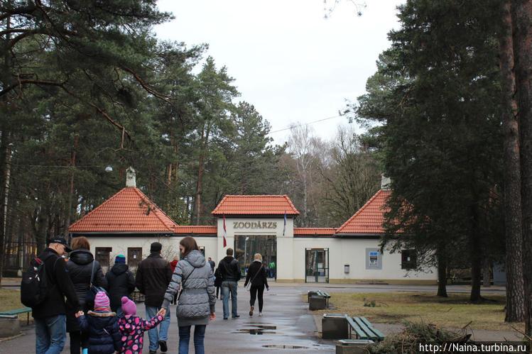 Ворота зоопарка