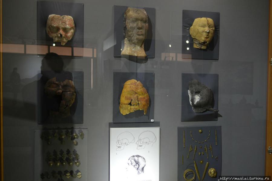 Таштыкские погребальные маски