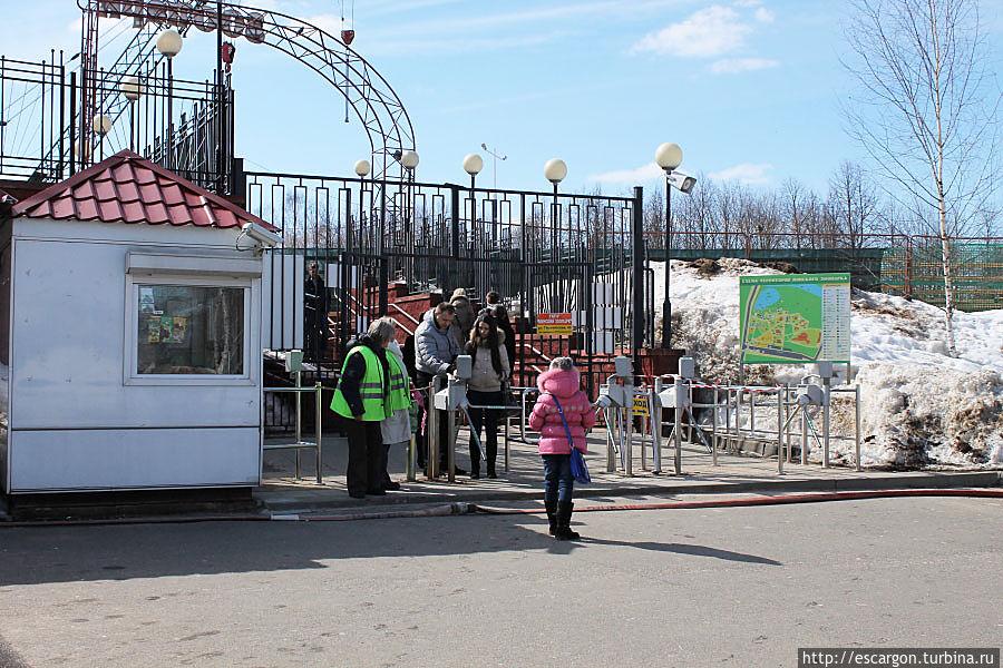 Вход в зоопарк на сегодняшний день составляет 20 тыс. бел.рублей