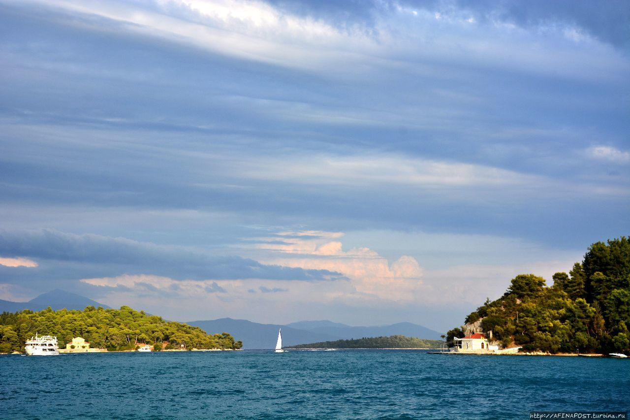 Остров Скорпиос остров Скорпиос, Греция