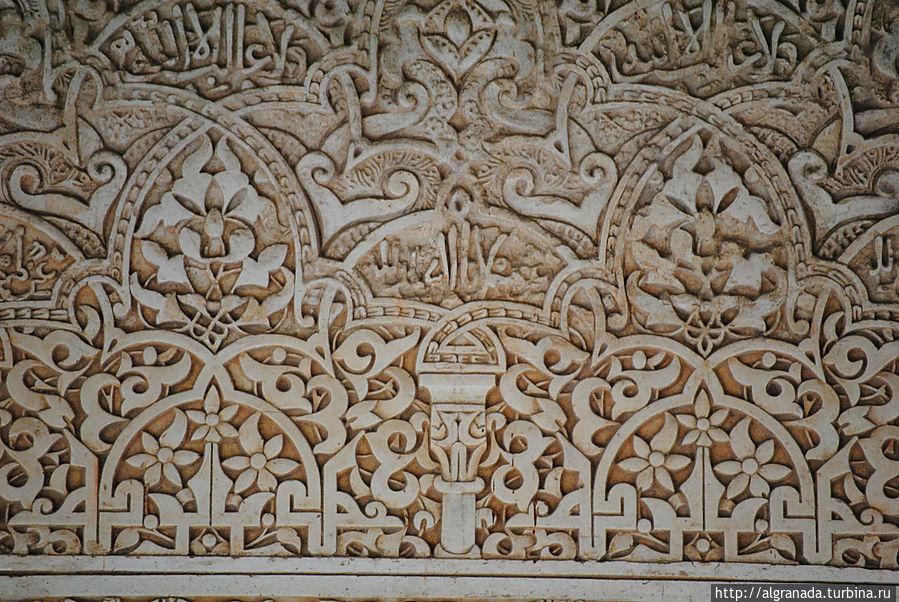 Замысловатые узоры Альгамбры