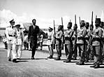 Умгами Кигери Пятый Ндахиндургуа с бельгийским королем Бодуэном