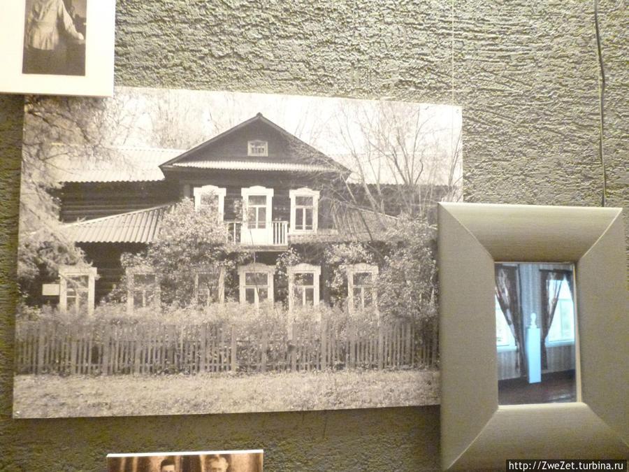 Фотография дома бабушки в Тверской области, где Л.Гумилев провел детство