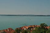 Вид на Боденское озеро с террасы Нового дворца