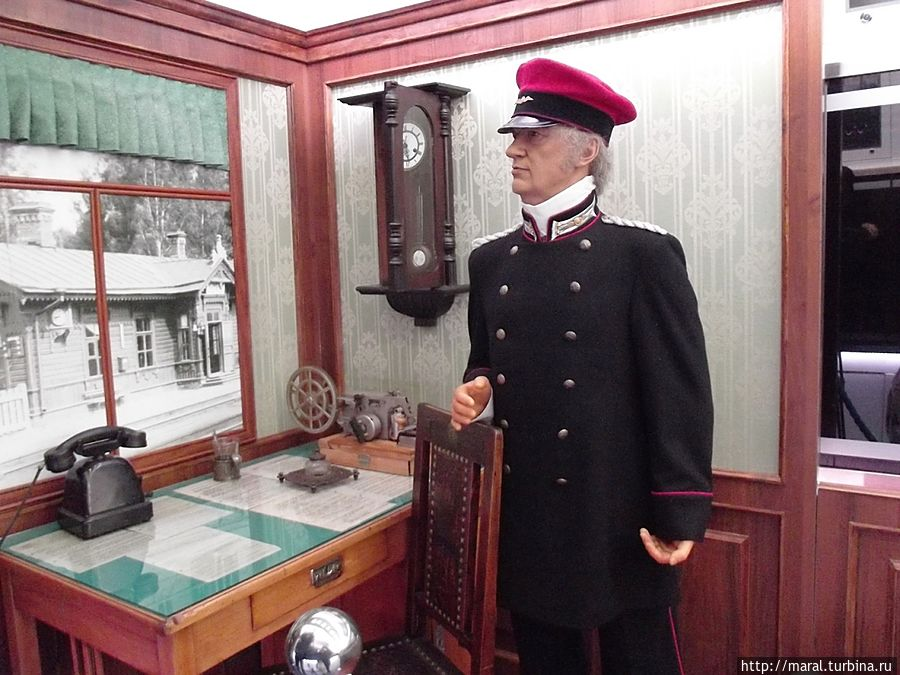 Дореволюционный начальник железнодорожной станции похож на генерала