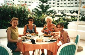 Обед в одном из отелей Сусса