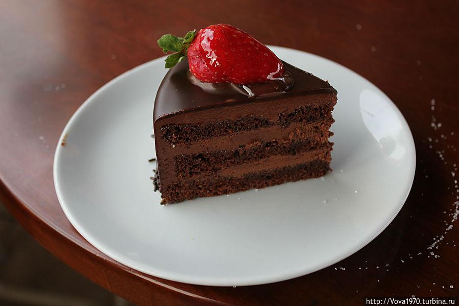 Devil's Cake-лучший шоколадный торт Стамбула!
