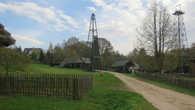Нефтяная вышка в Бещадах