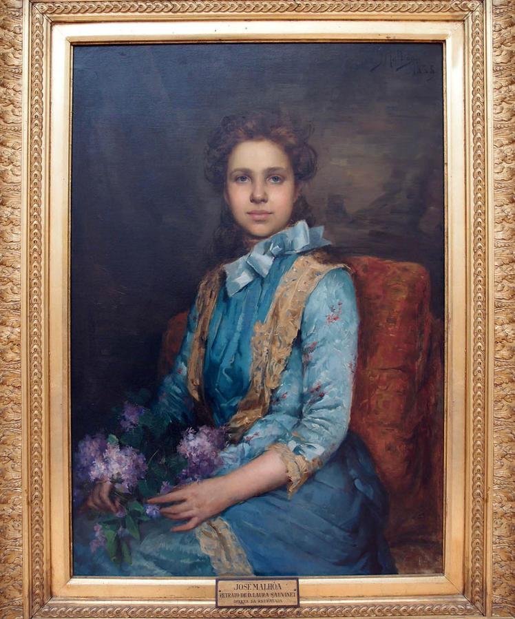 Retrato de Laura Sauvinet, одна из любимейших работ Мальоа, он сам считал портрет шедевром