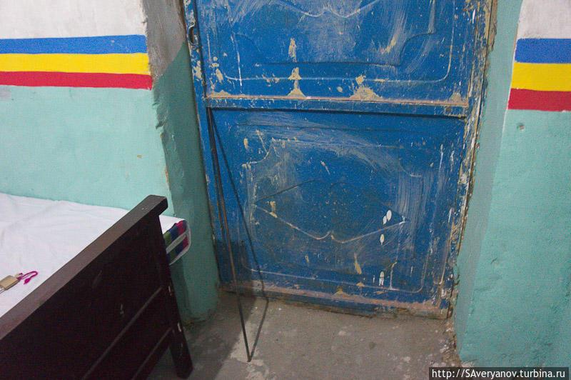 Методика запирания двери