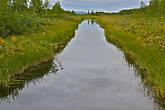 кроме реки на острове много каналов, похоже их специально расчищают