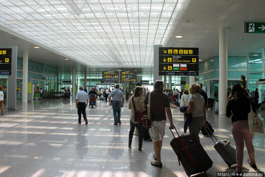 Как добраться из аэропорта барселоны в центр