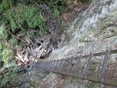 Последний водопад, вид сверху