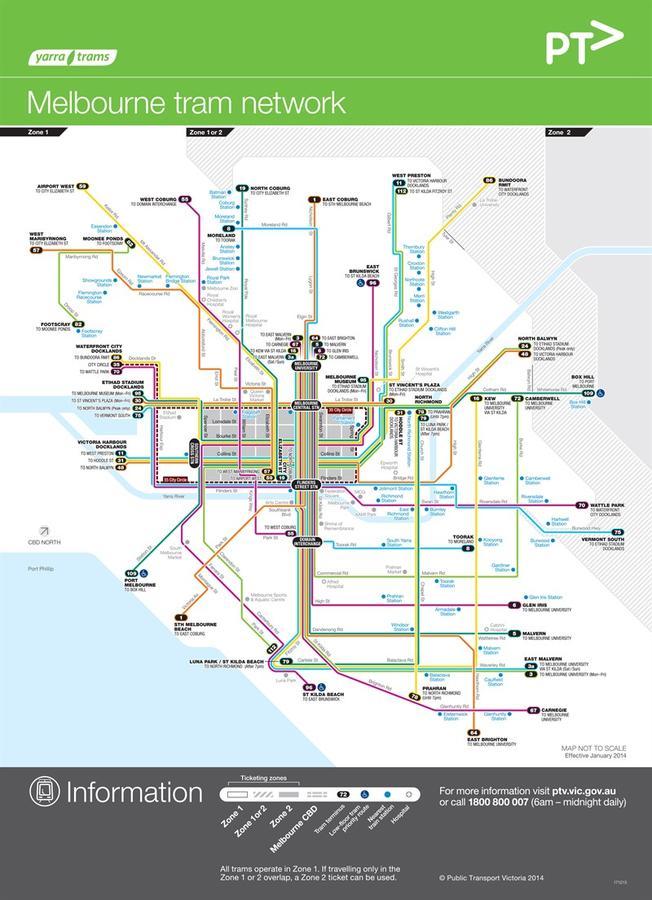 карта с сайта оператора трамвайных линий (ссылка ниже)