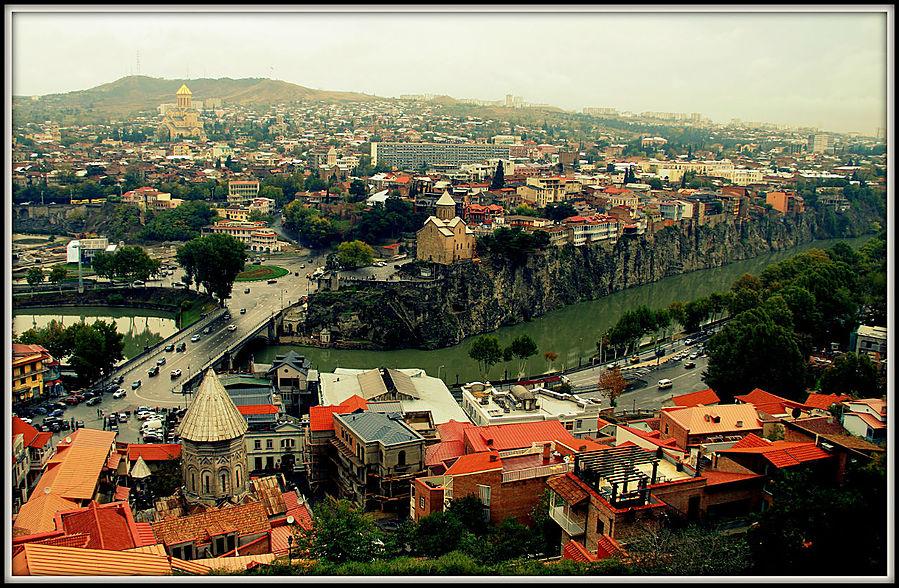 Несолнечный Тбилиси или очарование грузинской столицы Тбилиси, Грузия