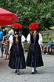 Участники фестиваля народного танца