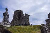 Развалины аббатства.