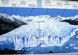 Схема ледника Перито Морено