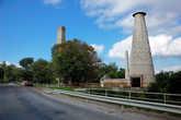 Развалины старого завода