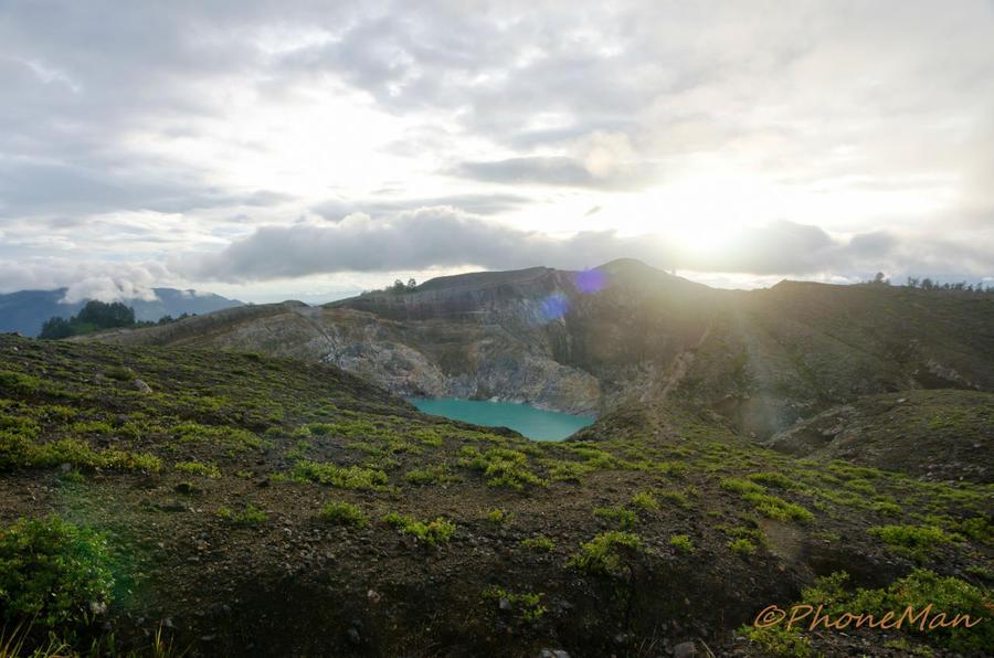 Индонезия. Озера Келимуту и обратная дорога в Энде