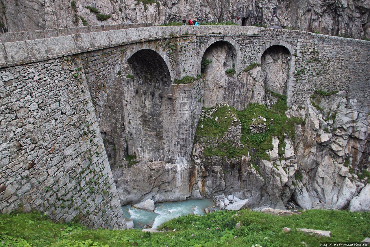 Чёртов мост Андерматт, Швейцария