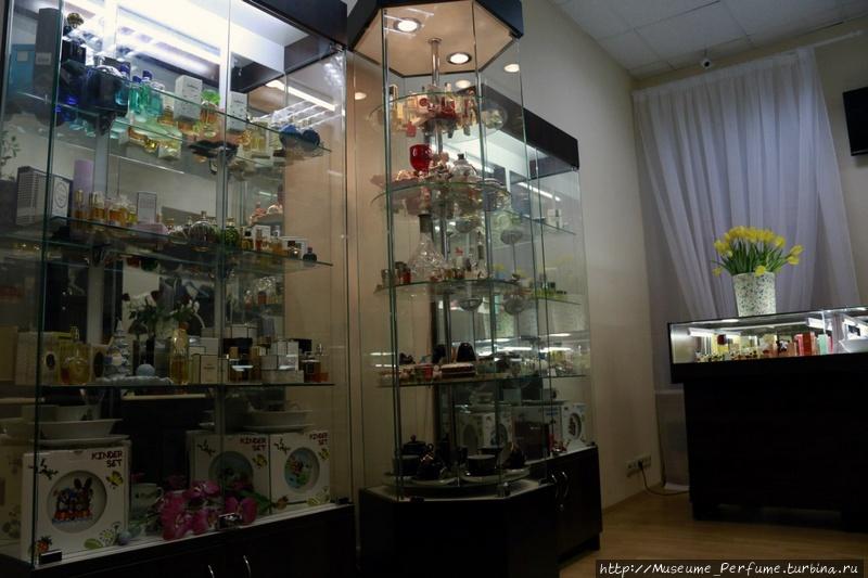 Московский Музей Парфюмерии на Старом Арбате. Винтажная лавка