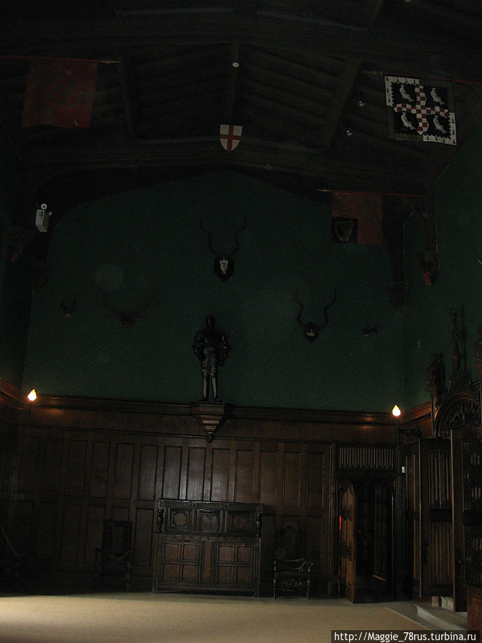 Грейт холл — зал славы рода Байронов
