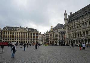 Площадь Гран-Плас в Брюсселе — памятник ЮНЕСКО №857
