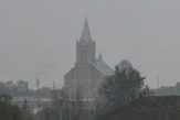 костел в тумане
