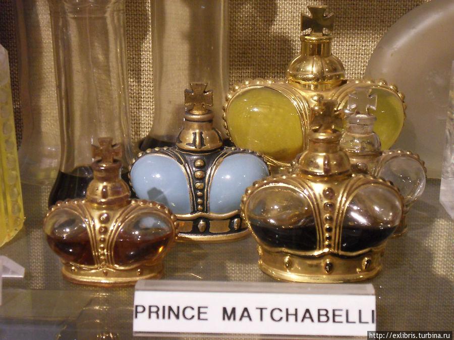 В музее парфюмерии при Regia