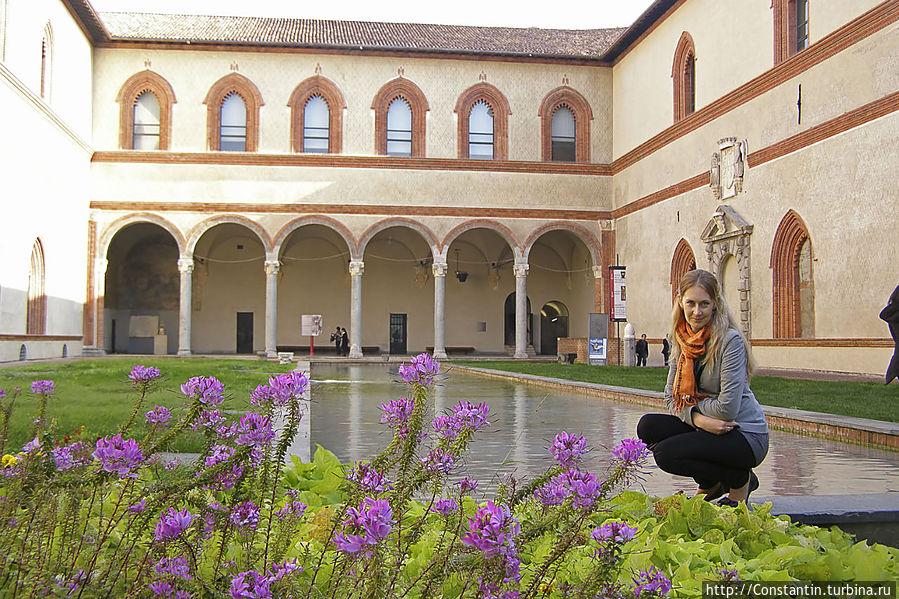 Самое красивое место — внутренний дворик Корте Дукале