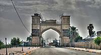 Ворота к дворцам Саддама (обработка)