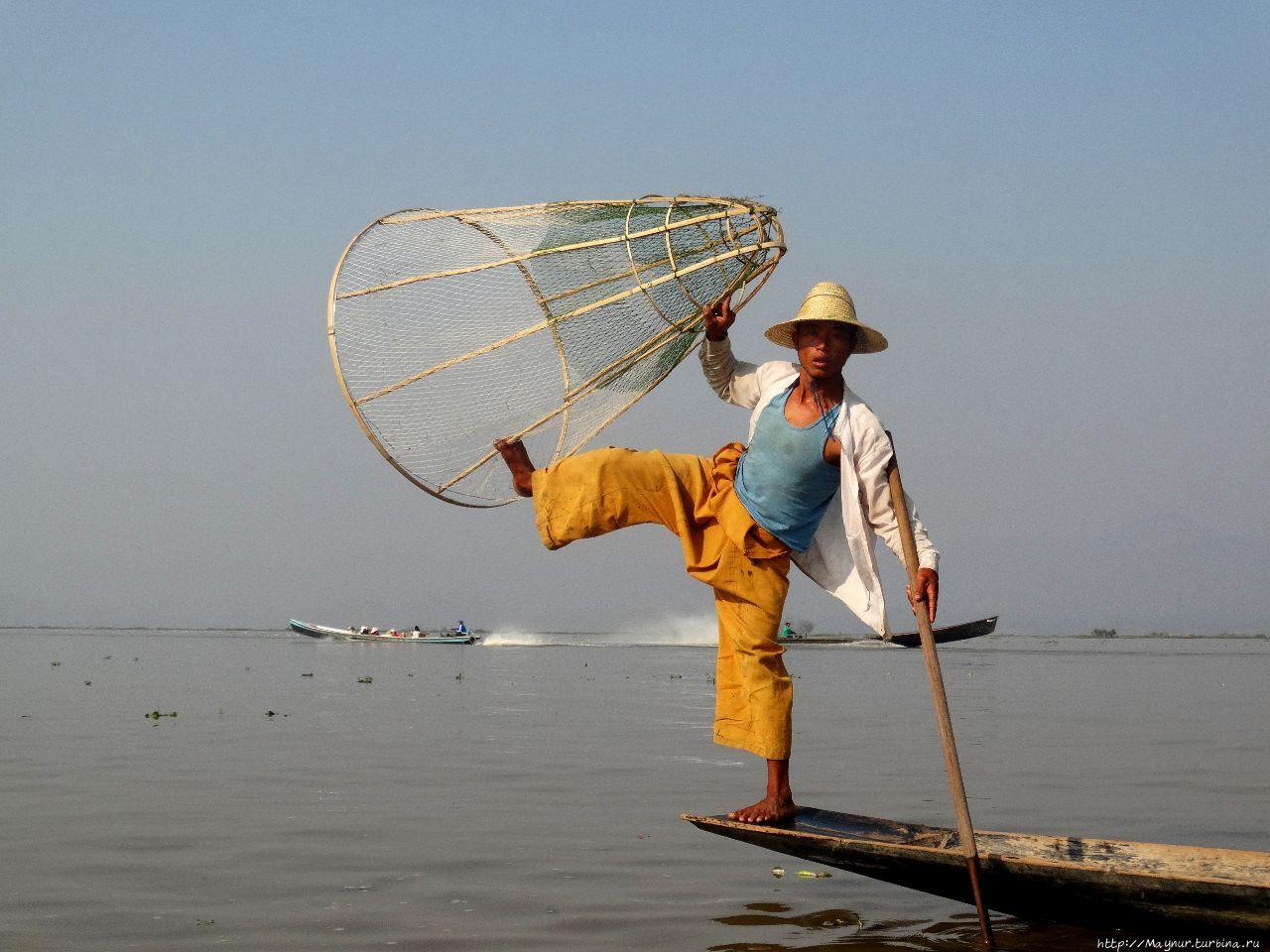 Мьянма. Озеро Инле