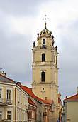 Колокольня костела св. Иоаннов- Крестителя и Евангелиста