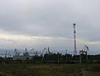 Градообразующее предприятие — грузовой порт Высоцк