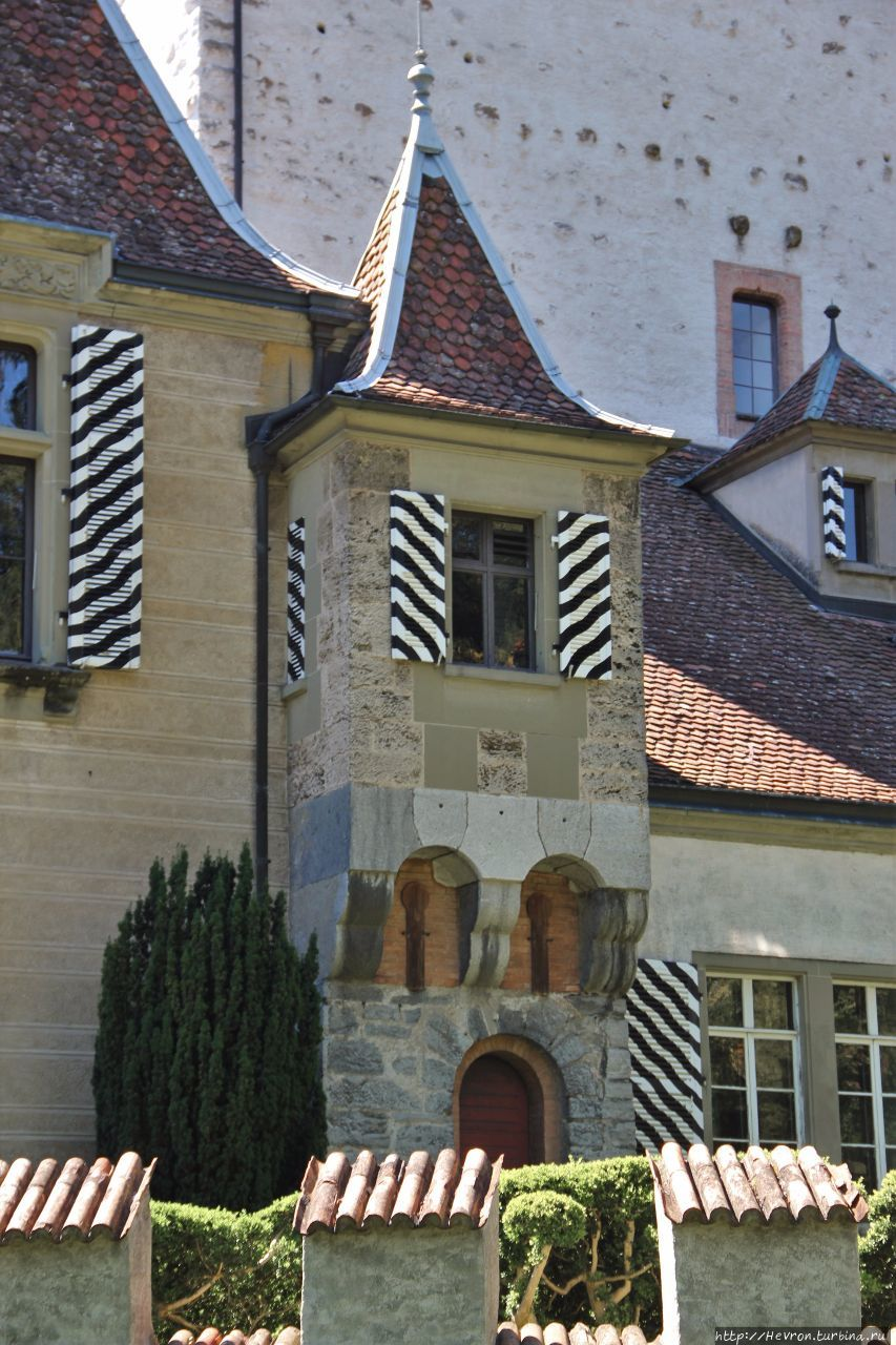 Замок Оберхофен Оберхофен, Швейцария