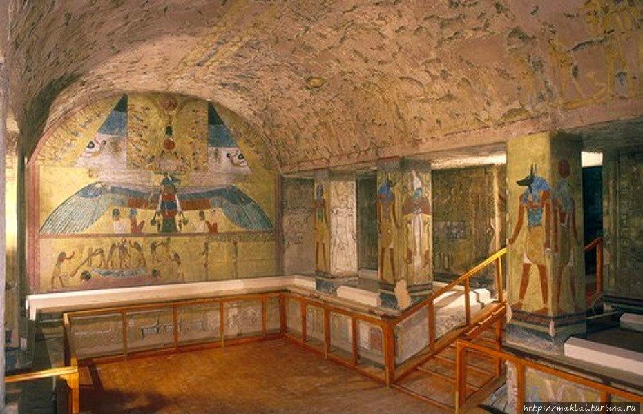 Гробница Сети I. Из интер