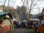 Рождественский базар в курортном парке Бад Мюнстера