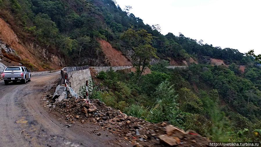 Вьетнам дорога в далат фото