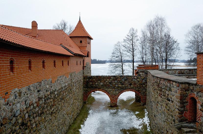 Литва, Тракай. . Замок на острове