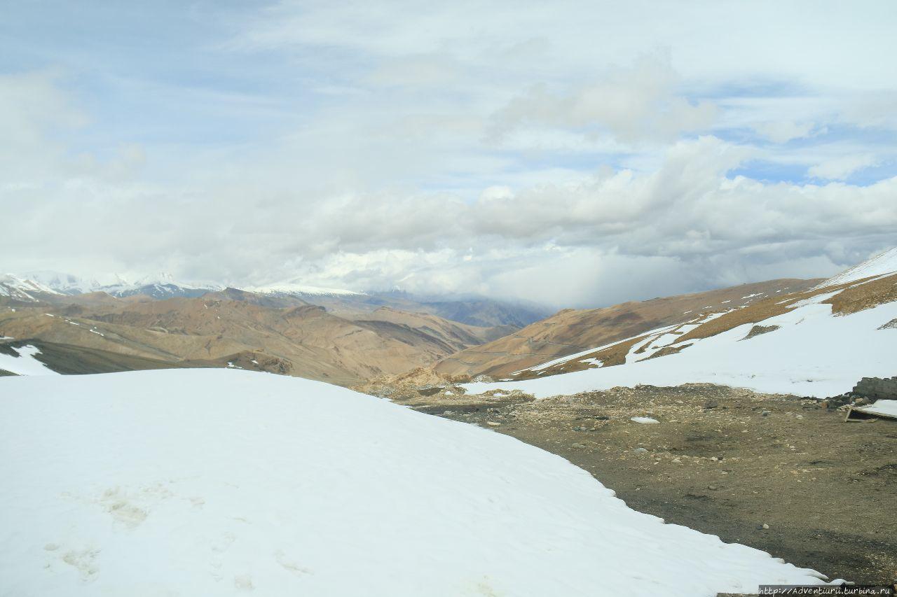 На перевале Танглала — Ла