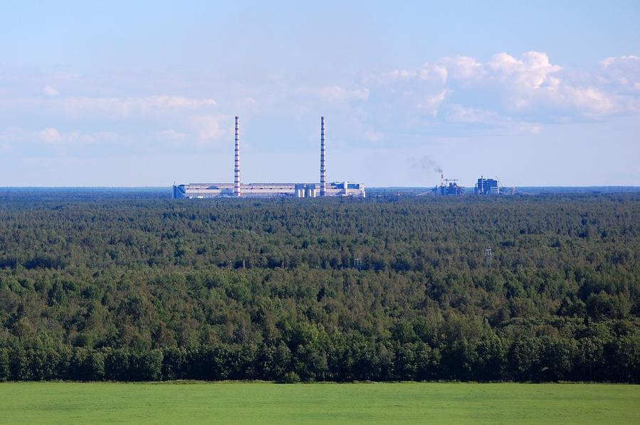 Эстонция электростанция и маслозаводы Enefit-140 и Enefit-280