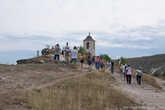 Туристов здесь достаточно много, это не удивительно – Старый Орхей одна из самых известных достопримечательностей Молдовы.