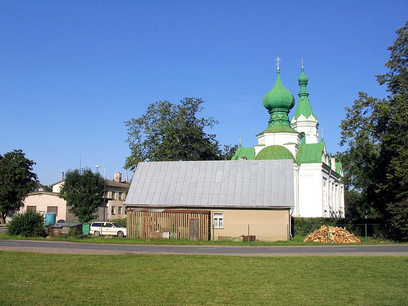 Православная церковь в Тапа Тапа, Эстония