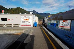 На новозеландском поезде по Южному острову