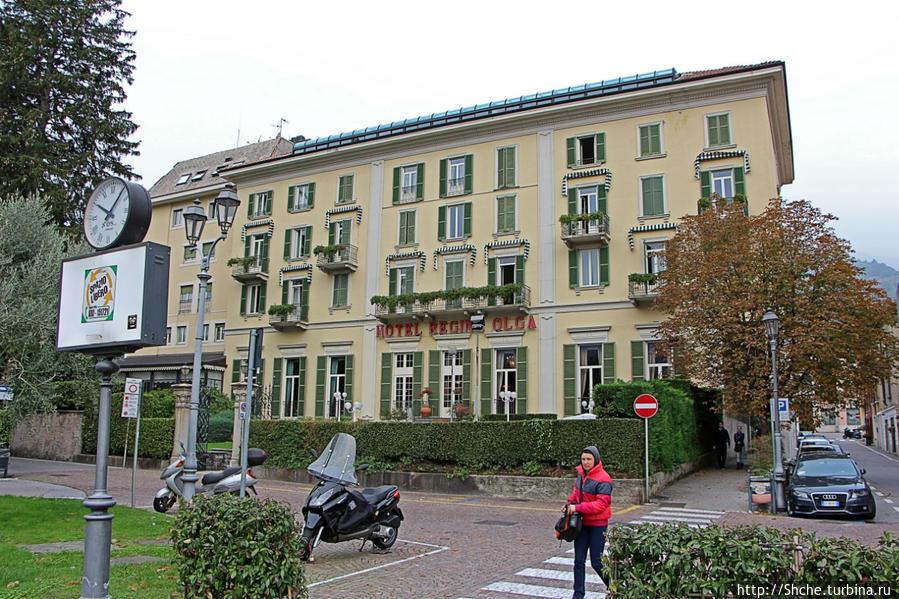 наш отель, вид с набережной