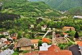 Со стен крепости открывается хорошая панорама на город и всю округу