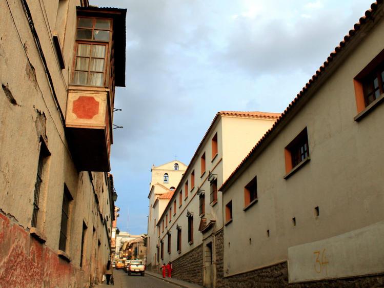 боковой вид с улицы Cobij