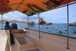 Лодка со стеклянным дном (вернее сказать окошком)