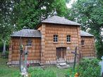Деревянная церковь Вознесения Господнего (Wniebowstąpienia Pańskiego).